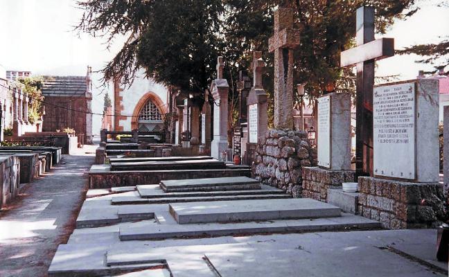 Los cementerios también se mueren