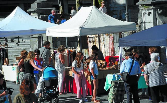 La Feria del Plazaola cede hoy el testigo al Maratón de las Vías Verdes