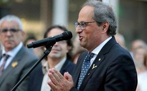 Torra llama a «encender pacíficamente» Cataluña en próximas semanas y meses