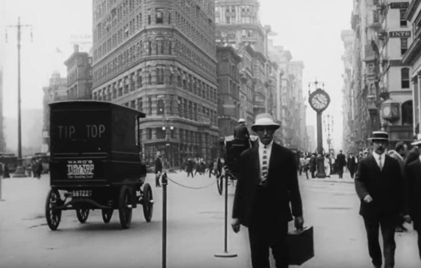 Así era Nueva York en 1911