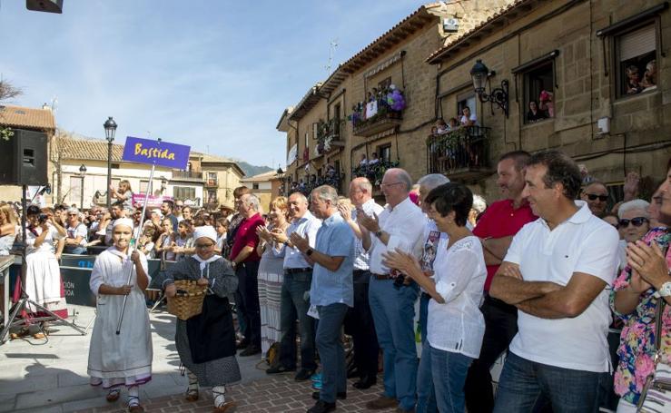 Fiesta del txakoli antes de la vendimia