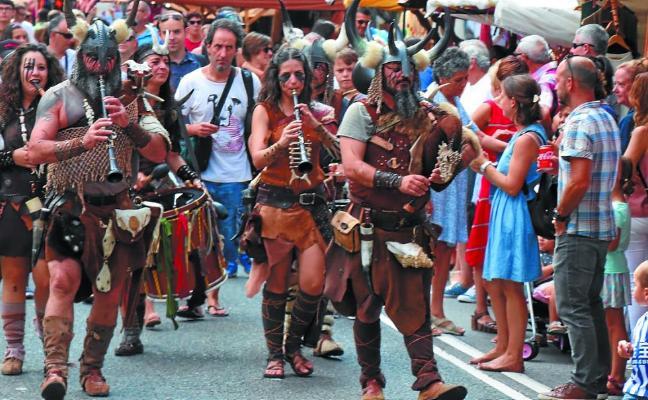 Clausura con gran ambiente en la Feria Xacobea