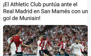 El Athletic se siente ofendido