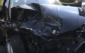 Fallece una mujer de 77 años en un accidente frontal en la N-634 en Zumaia