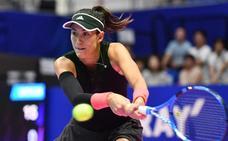 Muguruza derrota en primera ronda de Tokio a Belinda Bencic