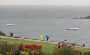 Euskadi activa el aviso amarillo por precipitaciones intensas