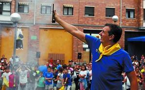 Etxeberri se adelantó a las fiestas de San Miguel con su propia celebración