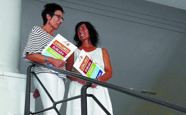 Aitzol «activa» el euskera en Tolosa