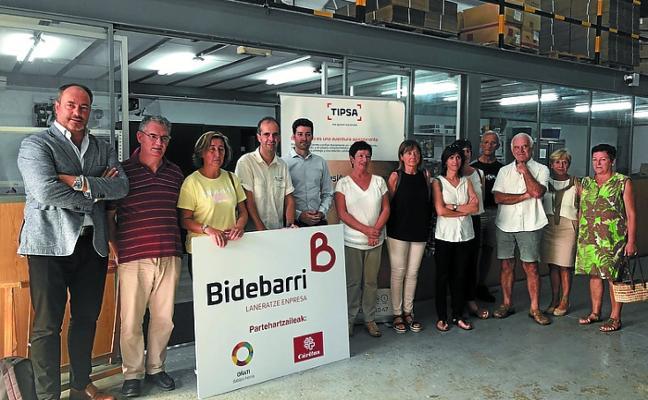 Bidebarri estrena una nueva línea de negocio, 'Bidali', en colaboración con Tipsa