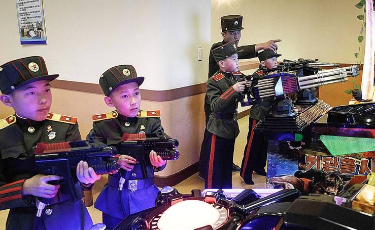 Devoción a la causa en Corea del Norte