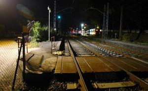 Un menor de 16 años fallece arrollado por un tren en Gaintxurizketa