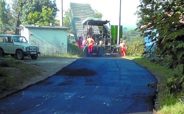 Comienzan los trabajos de asfalto
