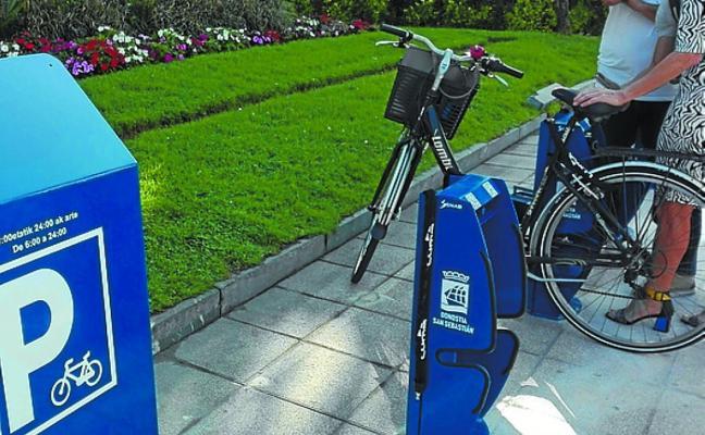Nuevo aparcabicis de rotación automatizado