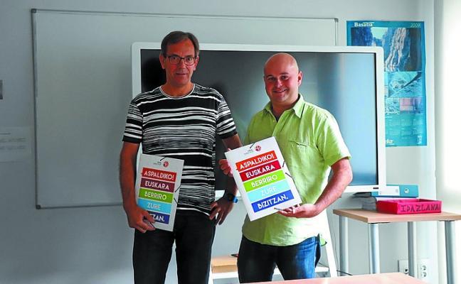 El Euskaltegi municipal prepara un curso escolar con novedades