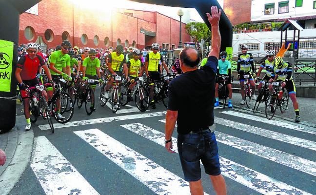 Los cicloturistas disfrutaron con su clásica intersocial