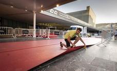 La alfombra del Festival de Cine de San Sebastián