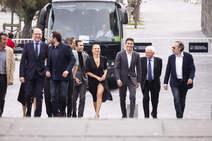 Las llegadas de actores al Festival de Cine de San Sebastián de este viernes