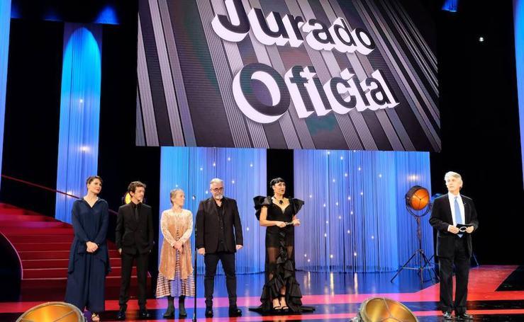 Gala inaugural del Festival de Cine de San Sebastián