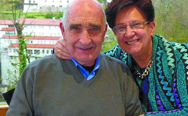Bodas de Oro de Pedro Mari Otegui y María Isabel Lasagabaster