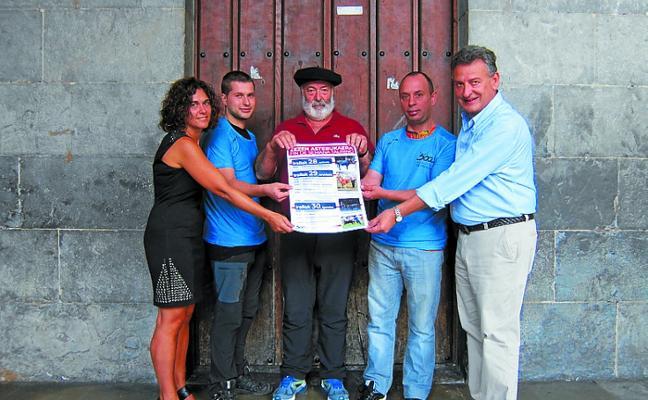 Azkoitiko Zezenzaleak y el Ayuntamiento organizan un fin de semana taurino