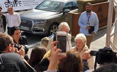 Judi Dench llega al Zinemaldia para recibir su Premio Donostia