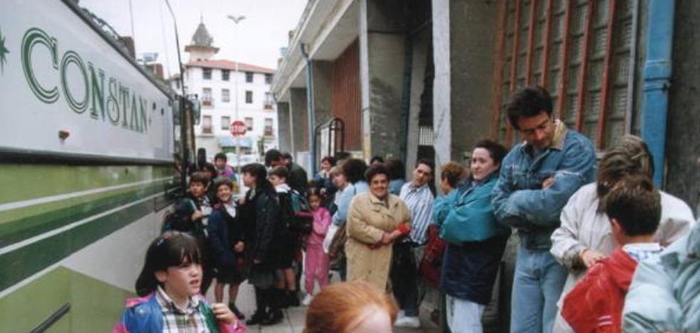 El Gobierno Vasco retira el transporte escolar a niños de 2 años por seguridad