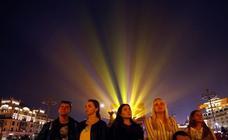 Luces y sombras en Moscú