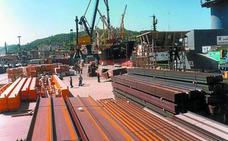 La exportación de Gipuzkoa crece un 4,7% pero sigue cediendo respecto a Euskadi