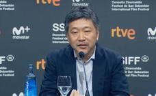 Kore-eda: «Yo hago películas para venir a San Sebastián»