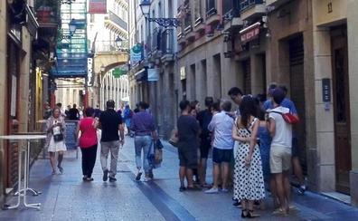 Colas en San Sebastián también por los pintxos