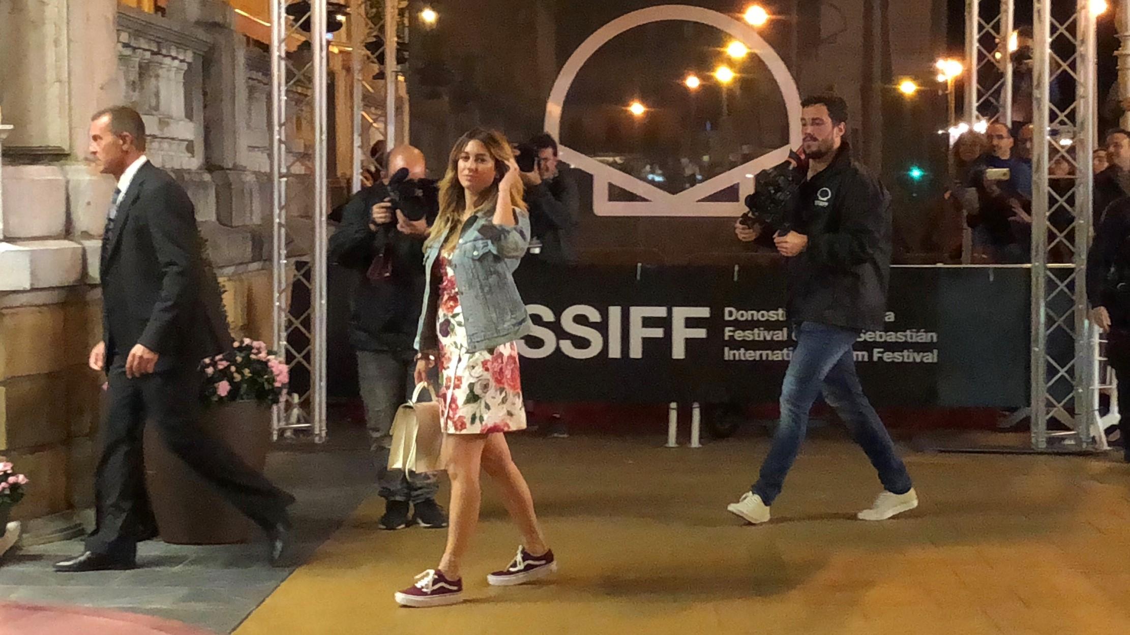 Blanca Suárez ya está en San Sebastián
