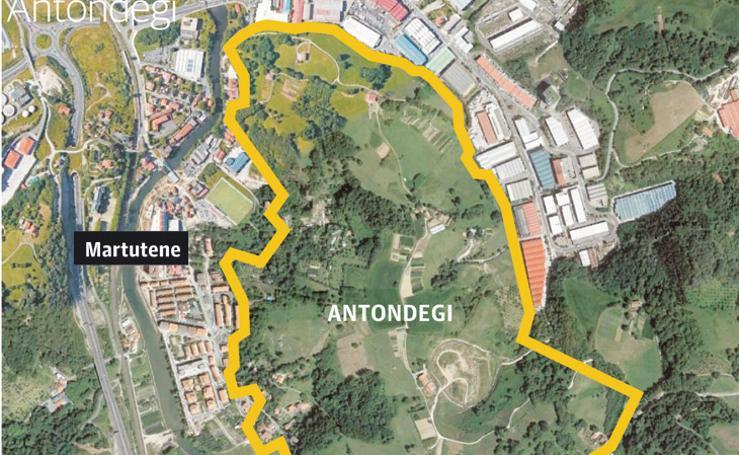 Ubicación de Antondegi