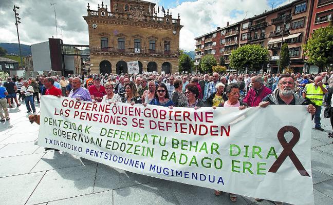 La bajada de las pensiones se deja notar en Gipuzkoa