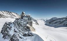 Jungfraujoch, en tren hasta la cima de Europa
