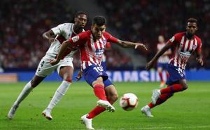 Confianza y puntos antes del derbi para el Atlético