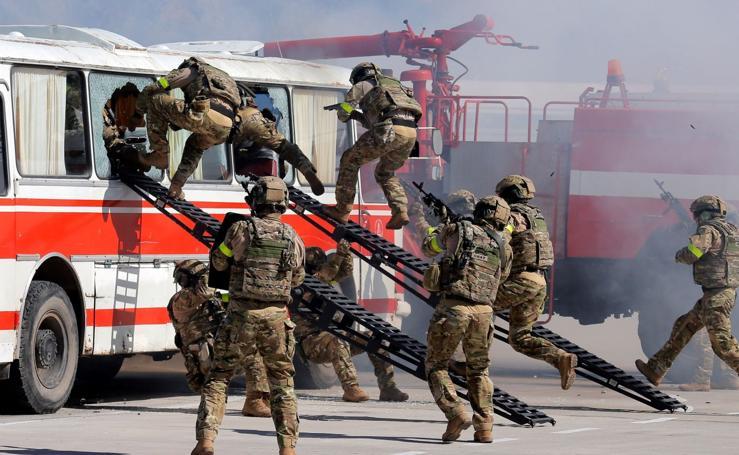 Simulacro de ataque terrorista