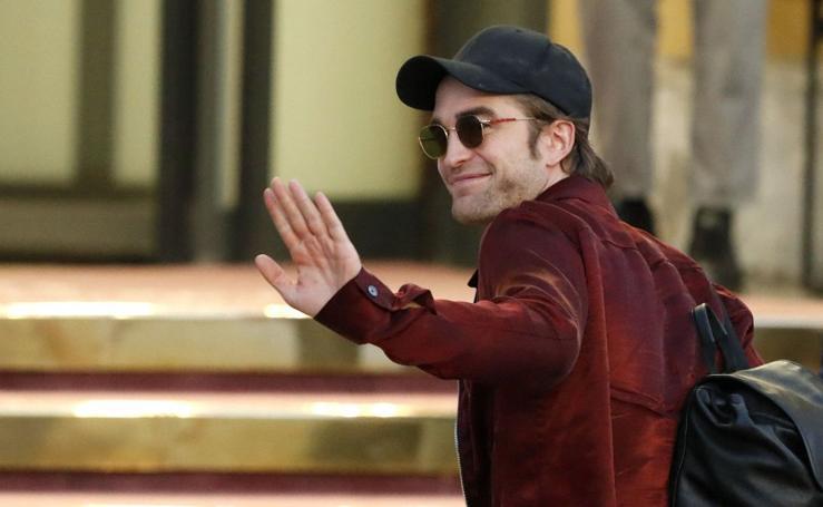 Robert Pattinson ya está en San Sebastián