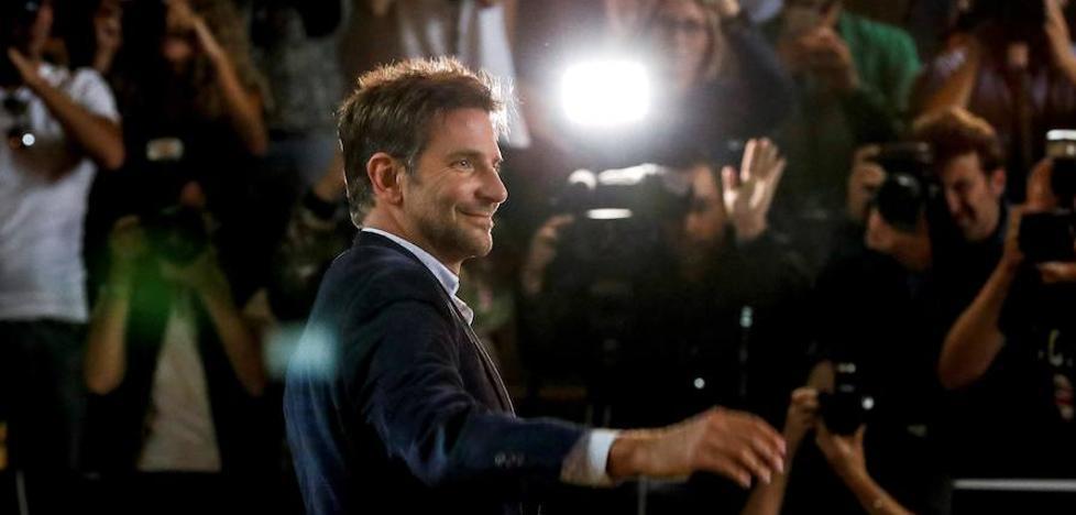 Bradley Cooper seduce en San Sebastián