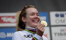 Anna van der Breggen, campeona del mundo en ruta