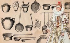 Menaje de cocina para marquesas y virreinas