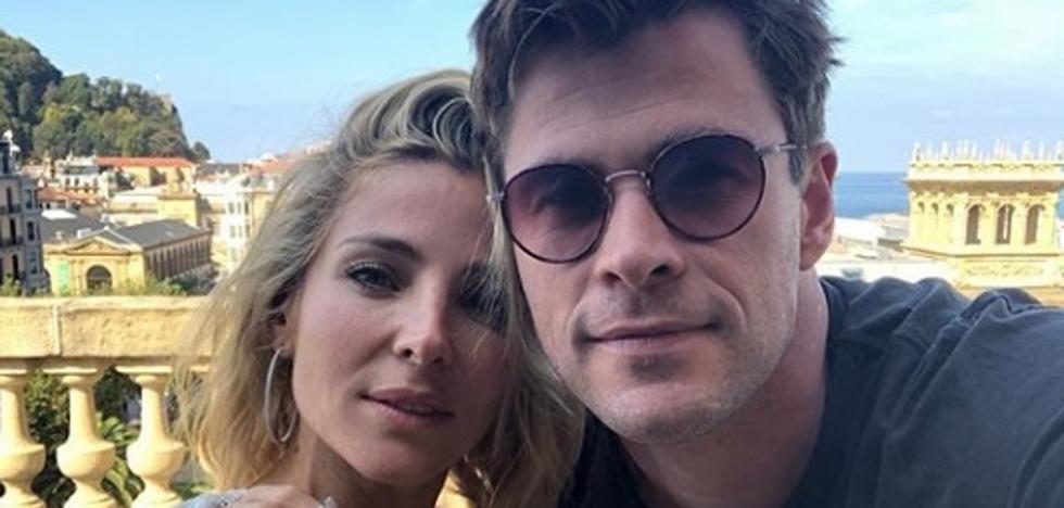 Chris Hemsworth, Elsa Pataky y los otros famosos que han promocionado el Festival de Cine de San Sebastián en redes
