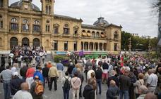 Los pensionistas guipuzcoanos salen un lunes más a la calle para exigir unas «pensiones dignas»