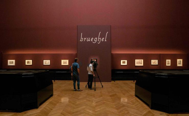 Con los cuadros de Brueghel