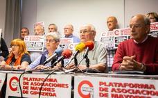 Los pensionistas de Gipuzkoa sostienen su compromiso por la pensión mínima de 1.080 euros