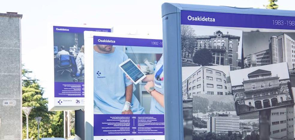 Los 35 años de Osakidetza, en el Hospital Donostia