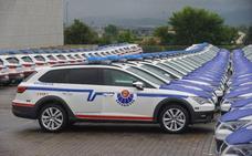 Piden retirar 150 nuevos coches de la Ertzaintza porque el habitáculo del conductor es muy pequeño
