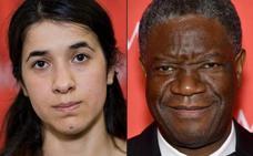 Nobel de la Paz para el congoleño Mukwege y la yazidí Murad por su lucha contra la violencia sexual