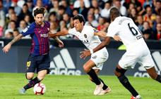 Al cuarto tropiezo, el Barça perdió el liderato