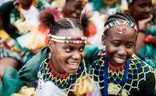 La nación Zulu venera a su rey