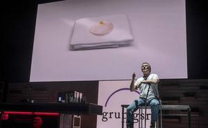 La hostia de Mugaritz y su iconoclasta concepción de la simplicidad, en San Sebastián Gastronomika